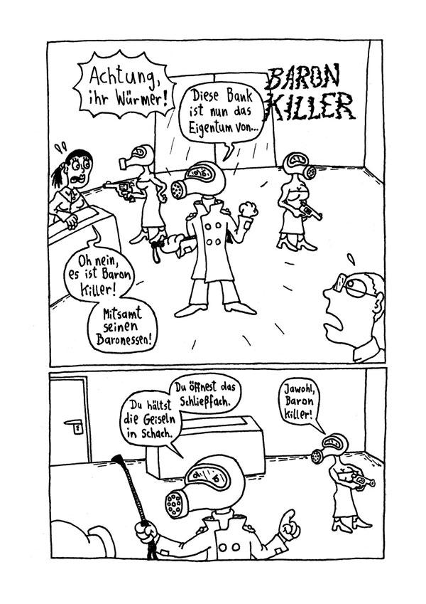 Baron Killer – Seite 1-3