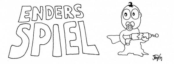 """Orson Scott Card: """"Enders Spiel"""""""