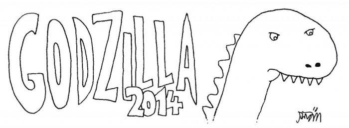 Titel Godzilla 2014