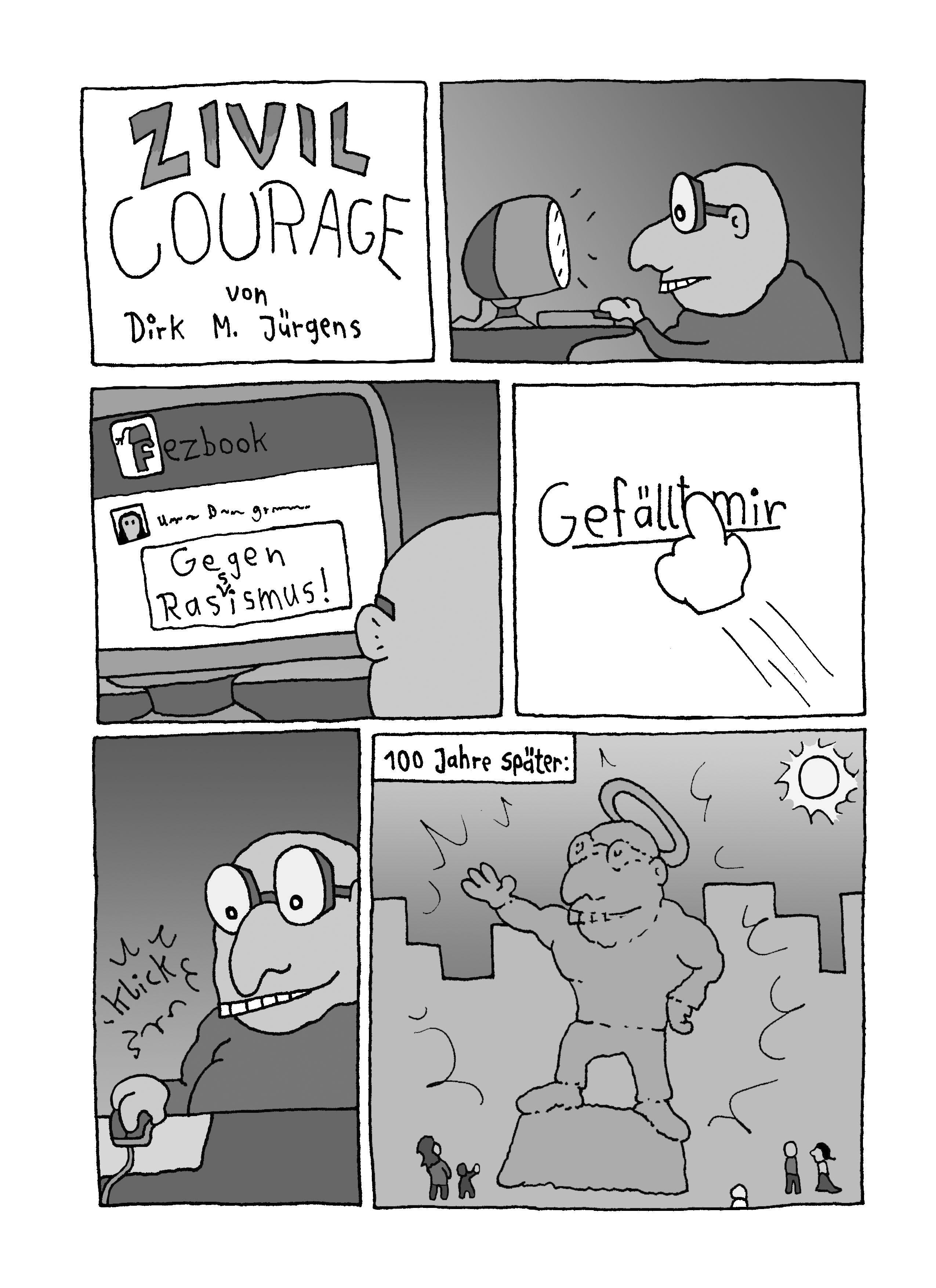 Webcomic Zivilcourage