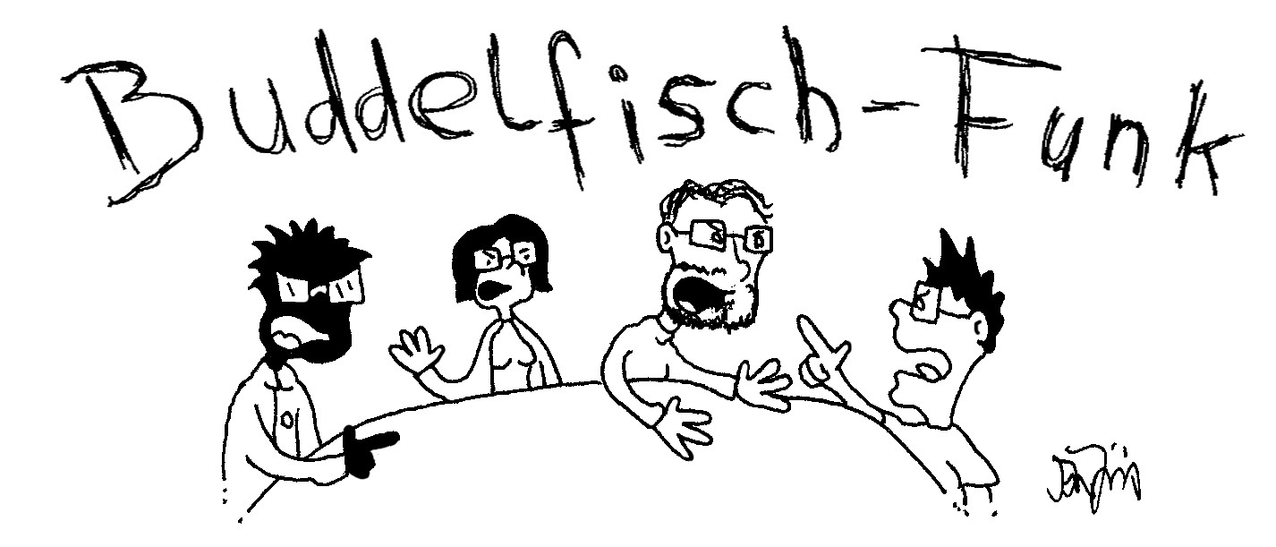 """Buddelfisch Funk"" Folge 07: Trailer Roundtable (Podcast)"