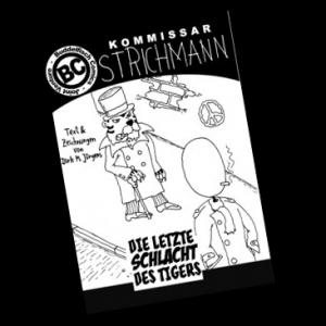 Bei Mondenschein reihen sich die Morde in Strichmanns Stadt. Eine wilde Bestie, die bei Vollmond meuchelt? Der Kommissar weiß, dies kann nur eines bedeuten: Außerirdische sind am Werk!