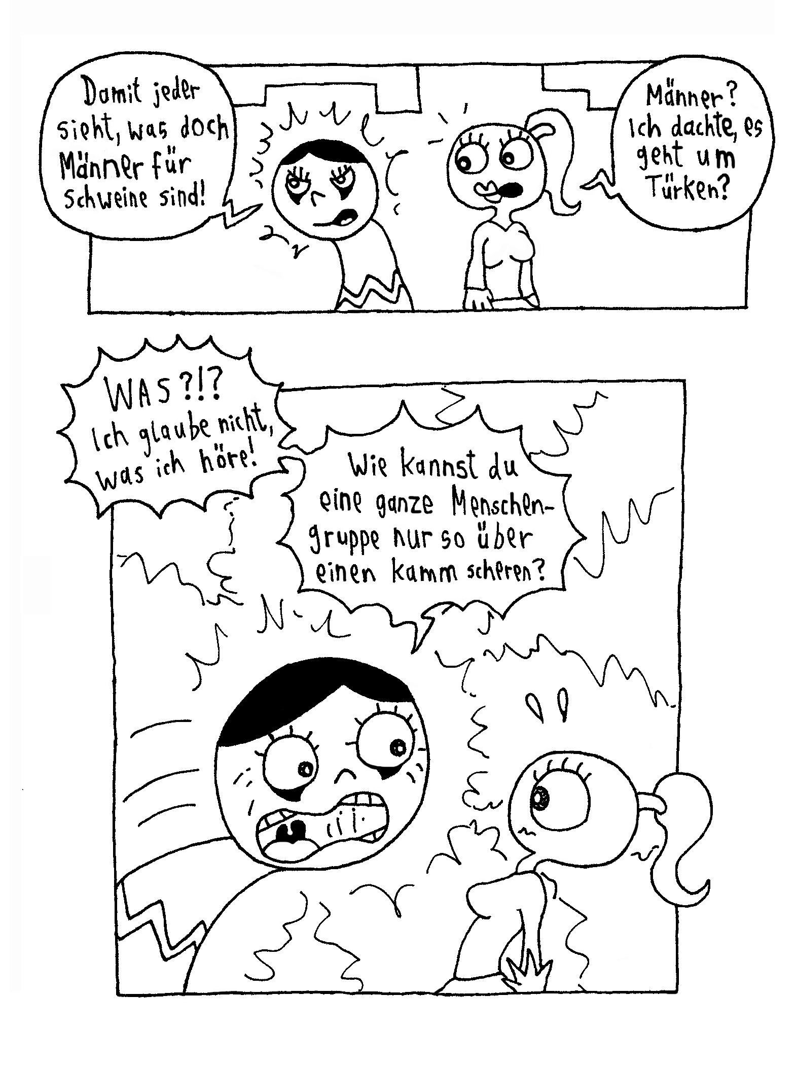 Webcomic - Biggi und die andere hashtaggen2