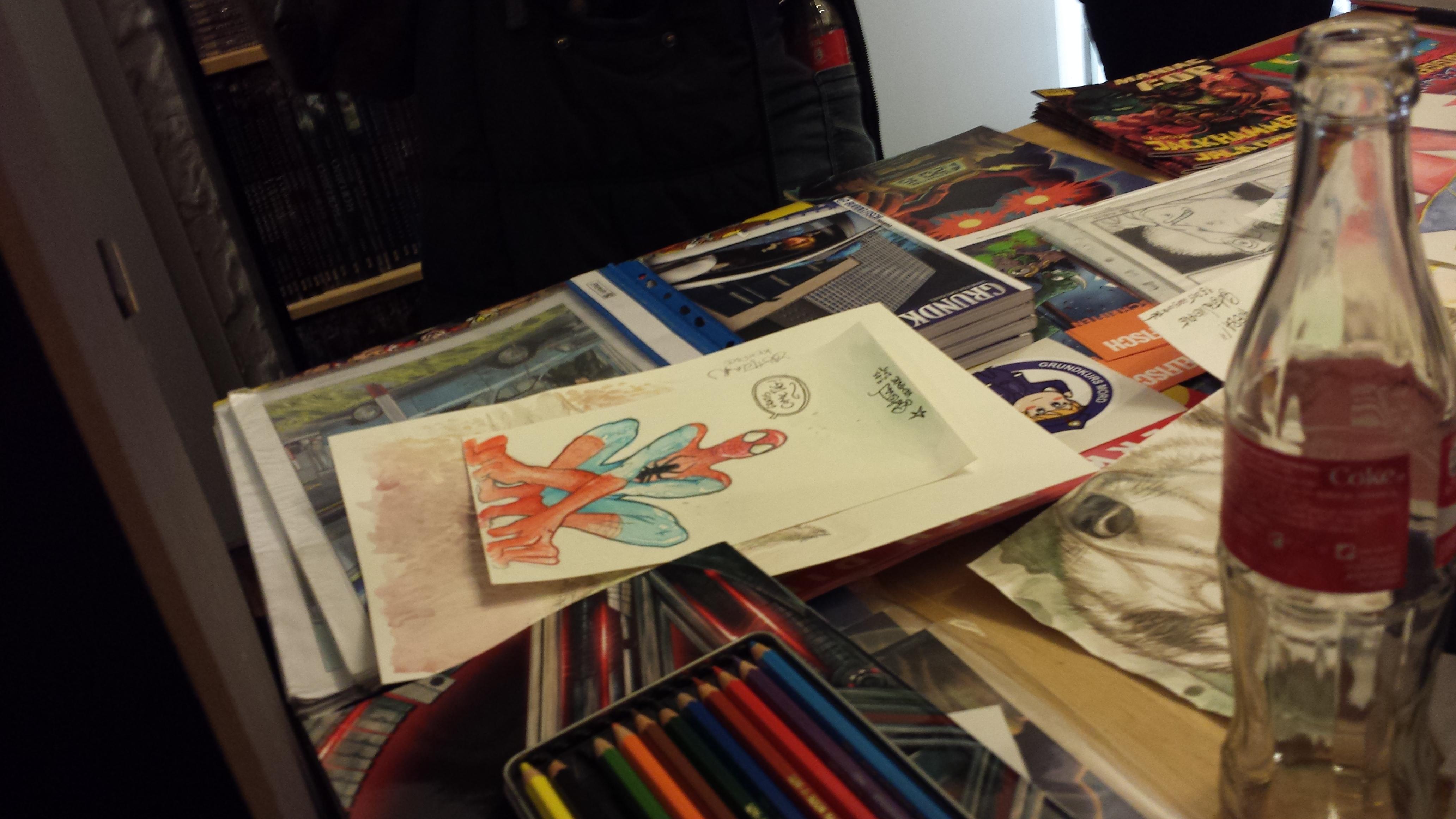 Buddelfisch unterwegs: Gratis Comic Tag im Fantasy Reich in Kiel
