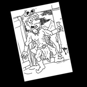 Ein unverwundbarer Oger verlangt nach Jungfrauen und versetzt ein Dorf in Angst und Schrecken. Kann Barbarion helfen?