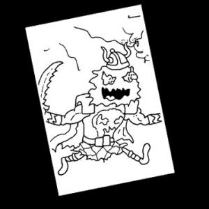 Tief in den Bergen trifft Barbarion auf Skulldiggr, den mächtigsten Krieger der Dimension G'hrk. Der angekettete Hühne bittet um Befreiung, doch wird er Barbarion auf seine Seite ziehen können?