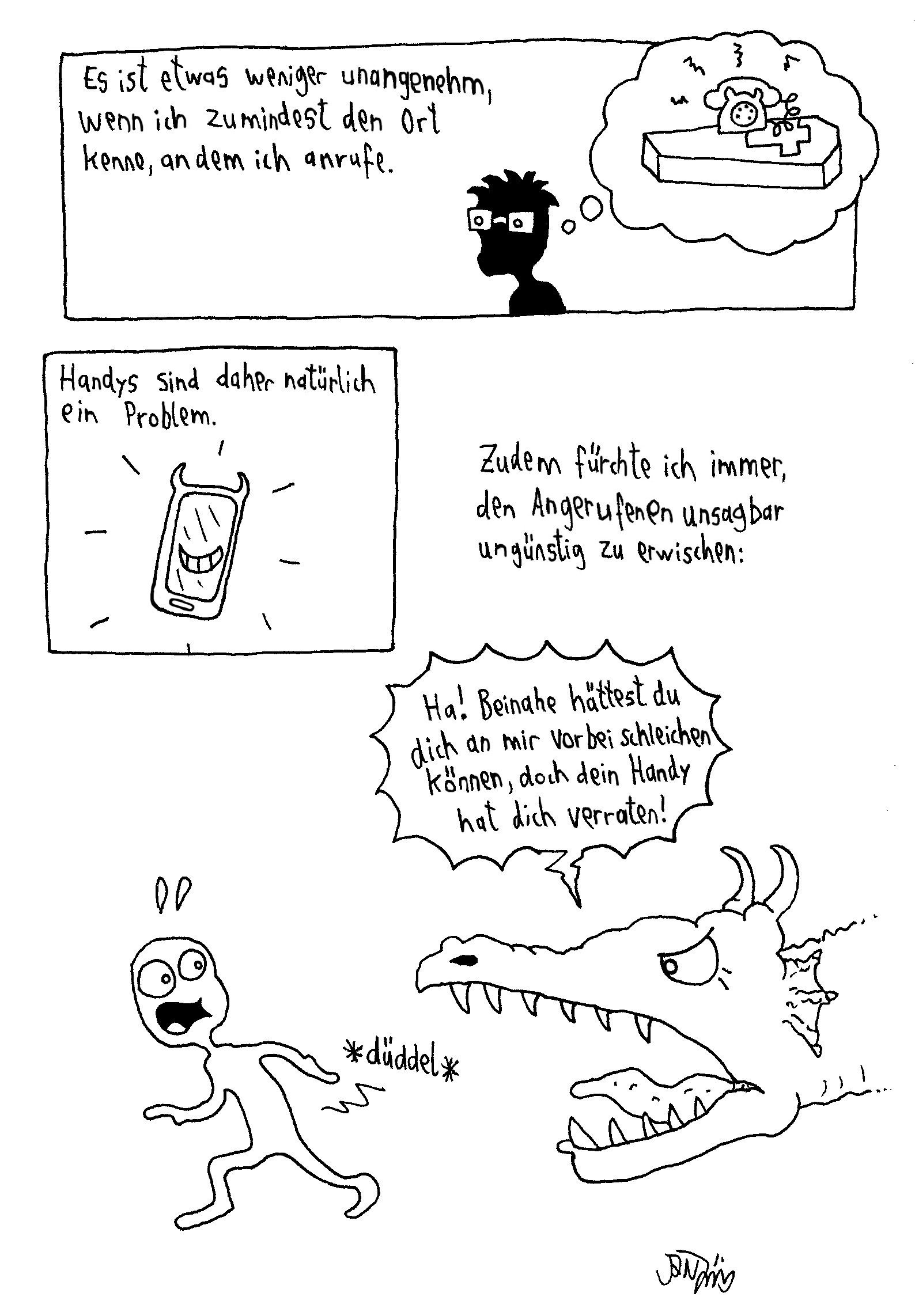 Webcomic - Telefone2