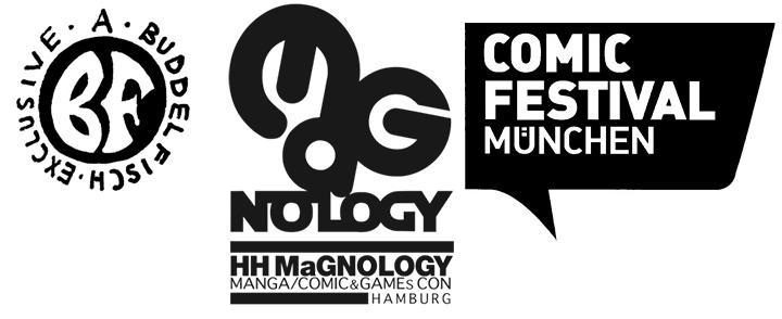 TERMIN: Comicfest München & die Magnology in Hamburg (Freitag bis Sonntag)