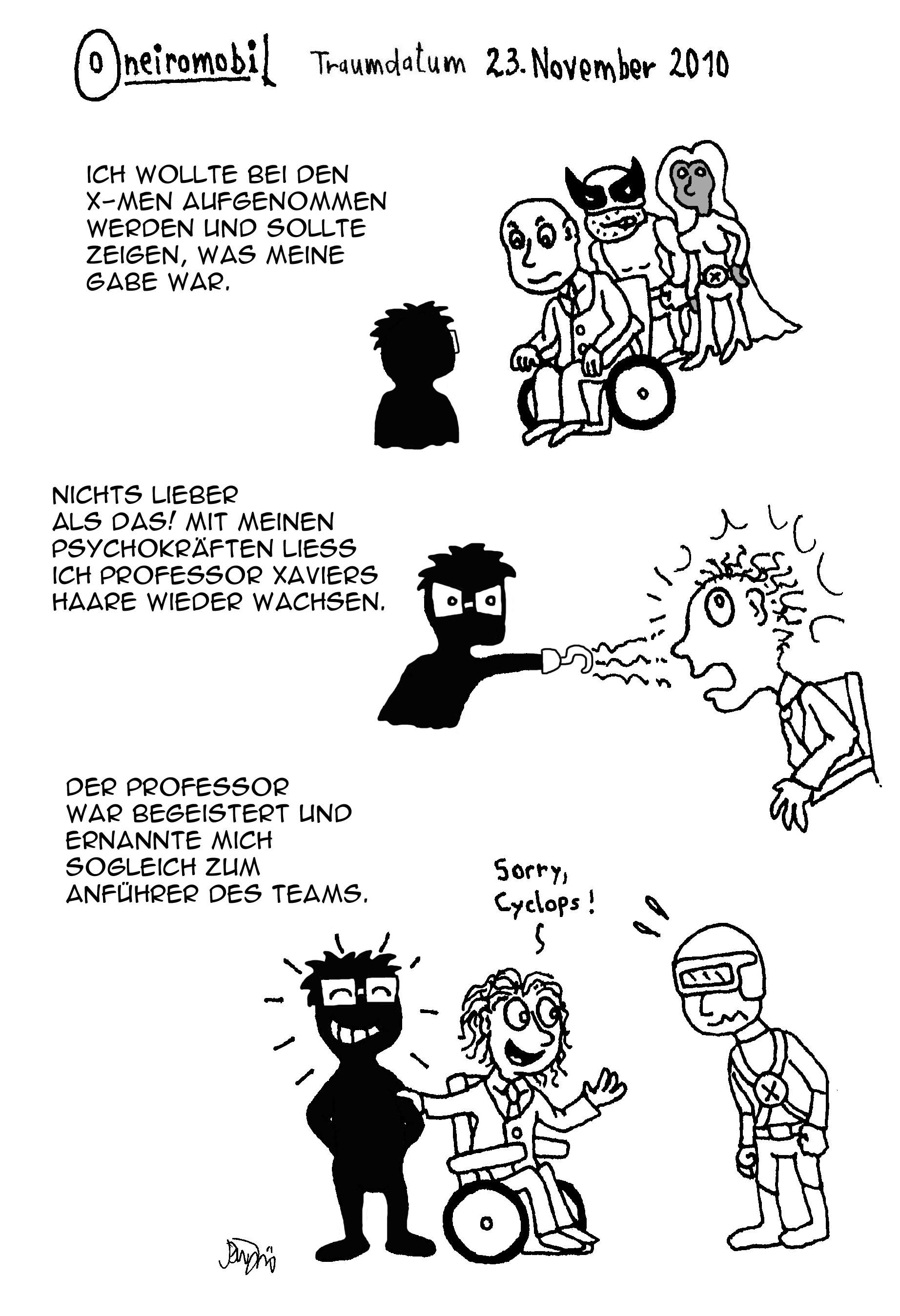 Webcomic - Oneiromobil 013