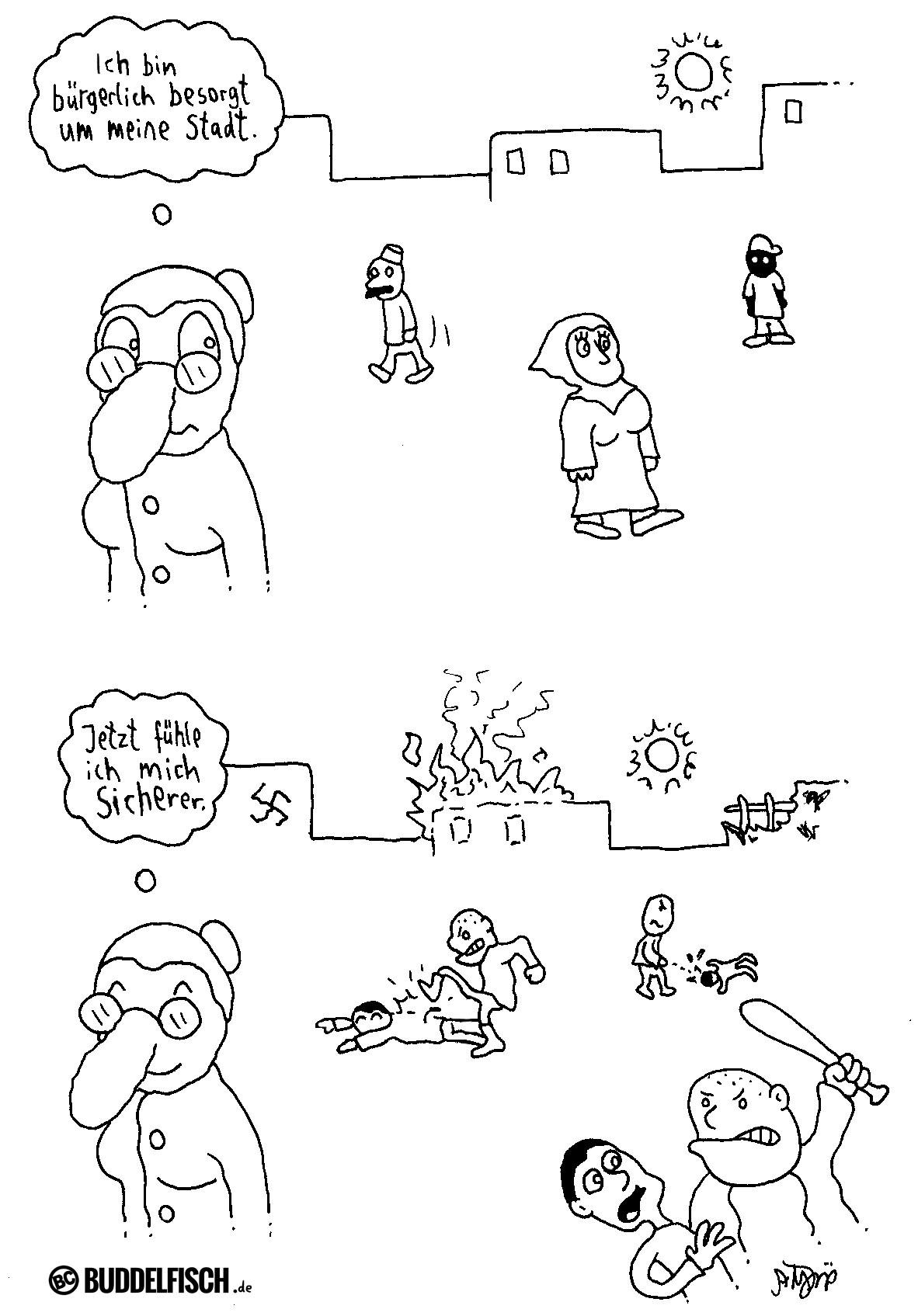 Webcomic - Bürgersorgen