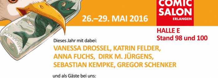 Internationaler Comic Salon in Erlangen (26.–29.05.2016)