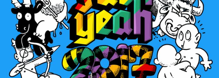 Fuck Yeah! 2017 – Comickalender jetzt erhältlich!