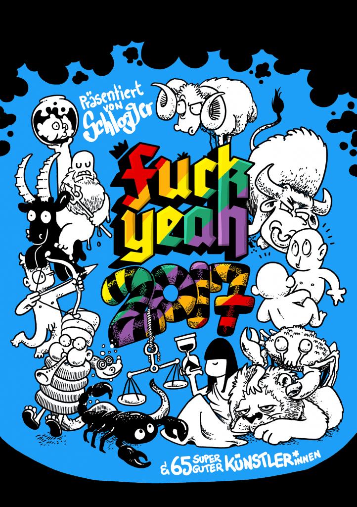 Fuck Yeah! 2017 - Comickalender jetzt erhältlich!
