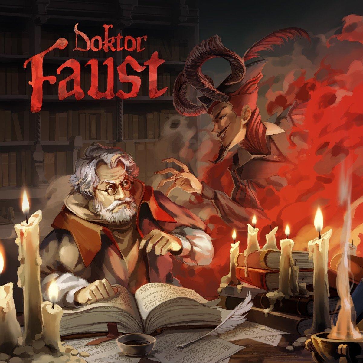 """Neues Hörspiel von Dirk M Jürgens: """"Doktor Faust"""" bei Holysoft Studios erschienen"""