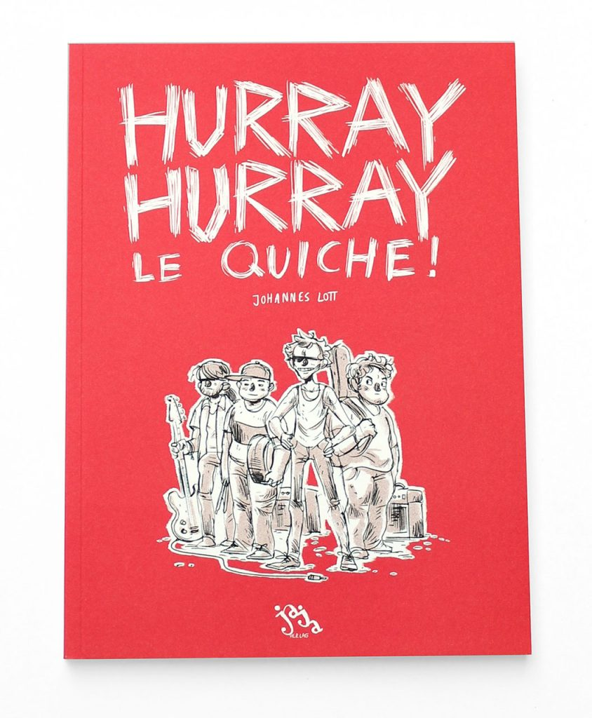 "Indiereview: ""Hurray. Hurray Le Quiche!"" von Johannes Lott"
