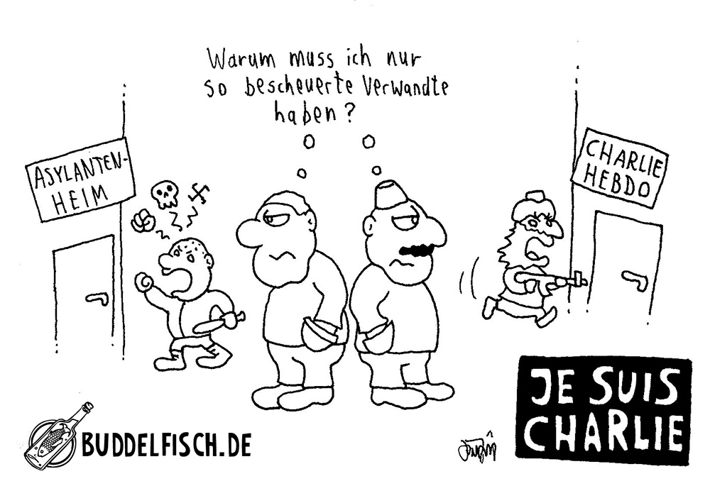 Webcomic - jesuischarlie-LOGO