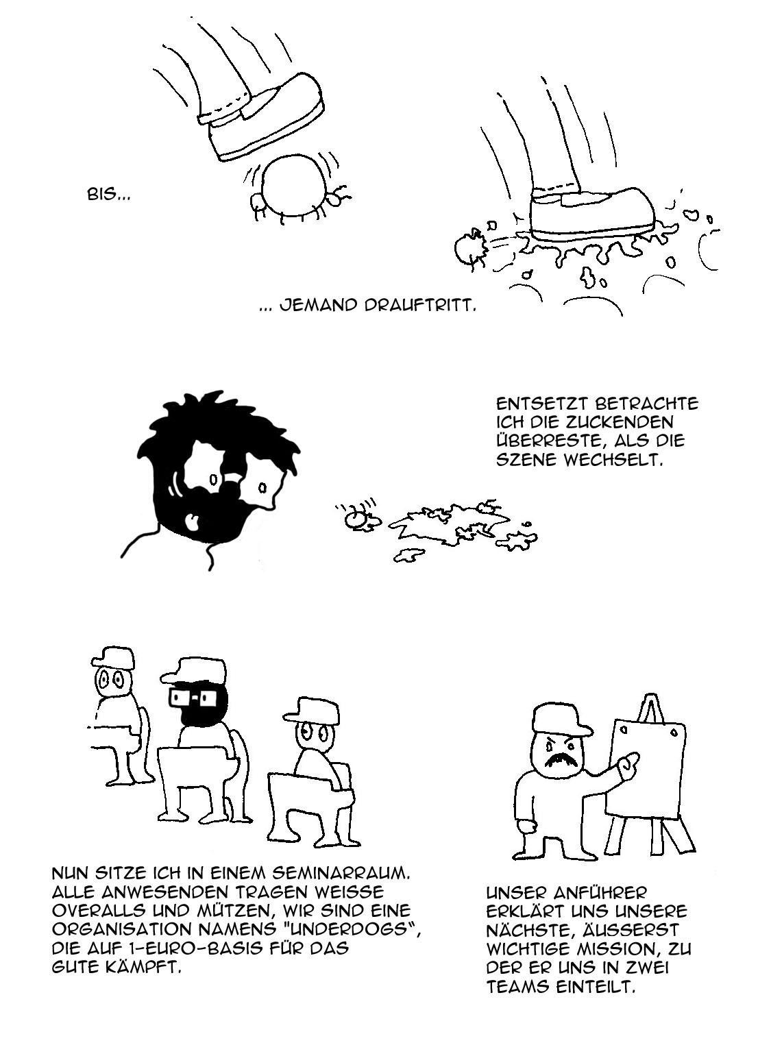 Webcomic - Oneiromobil 001b