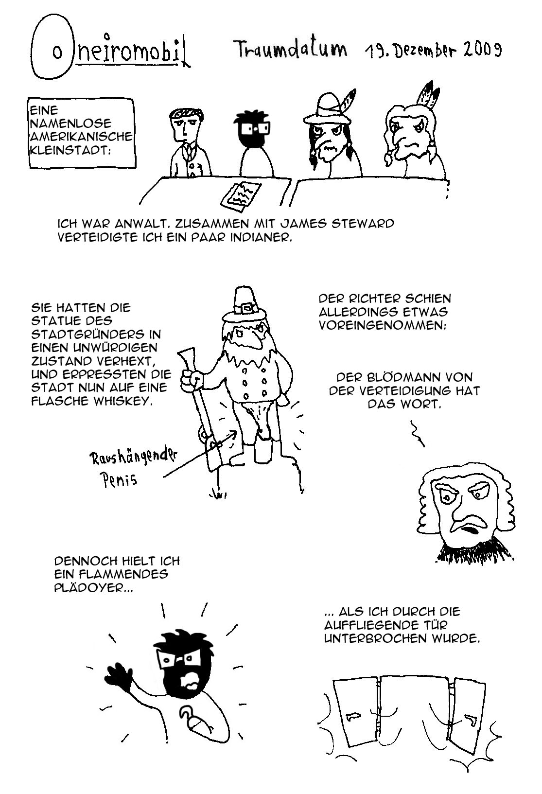 Webcomic - Oneiromobil 002a