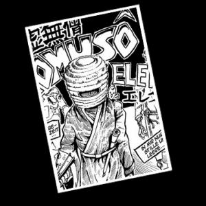 """Ein Komuso-Mönch und seine Shakuhachi, ein Duell in einer fernen Provinz, Ewigkeit. Und Roboter. *zinggg* Die Kurzgeschichte erschien Ende 2011 auf der ComicAction in der damaligen """"Mörser Attack""""-Veröffentlichung """"Steel don't die"""" der Brüder Rennwanz. Texte und Zeichnungen von Sebastian Kempke."""
