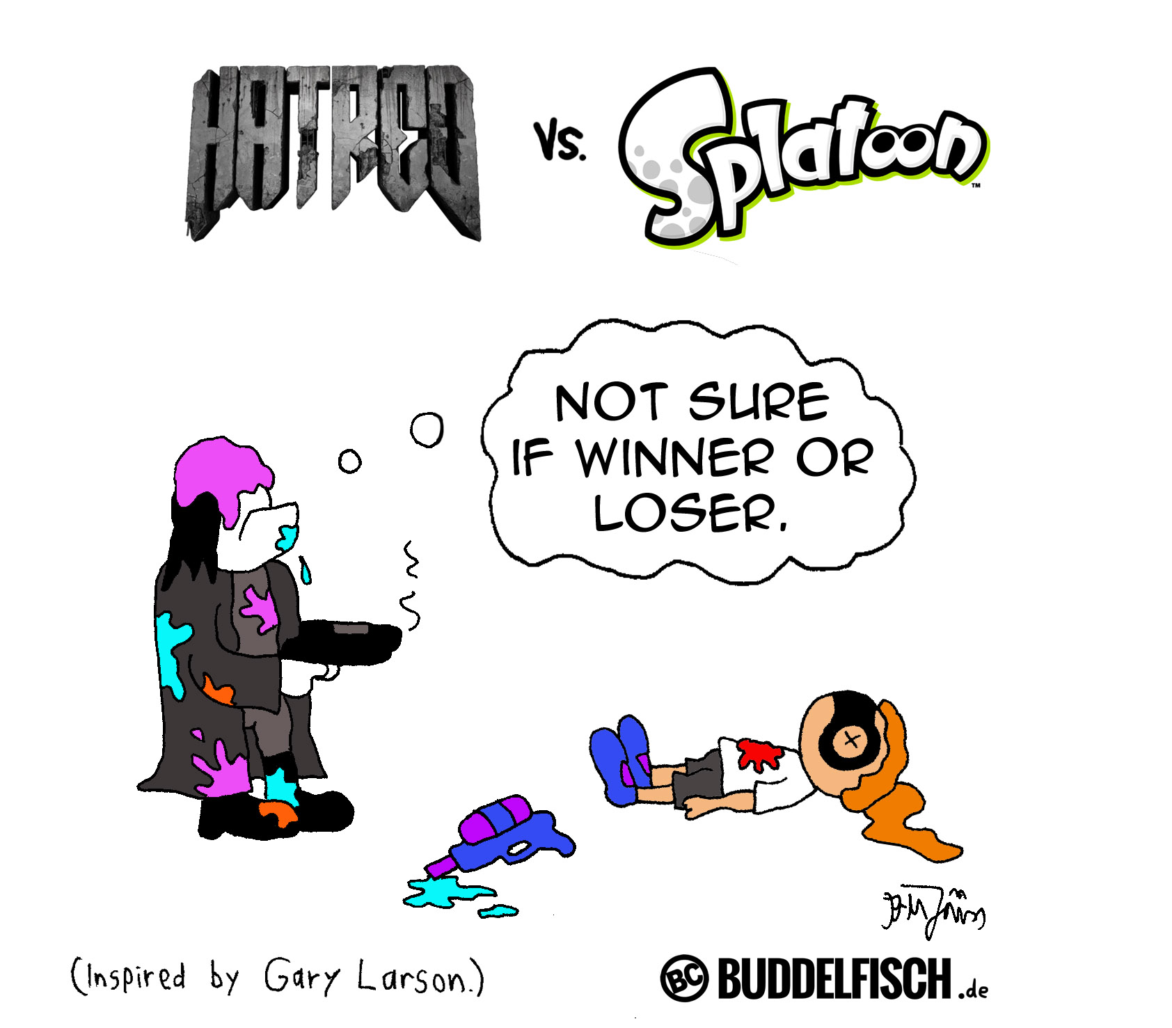 Webcomic - Hatred vs Splatoon