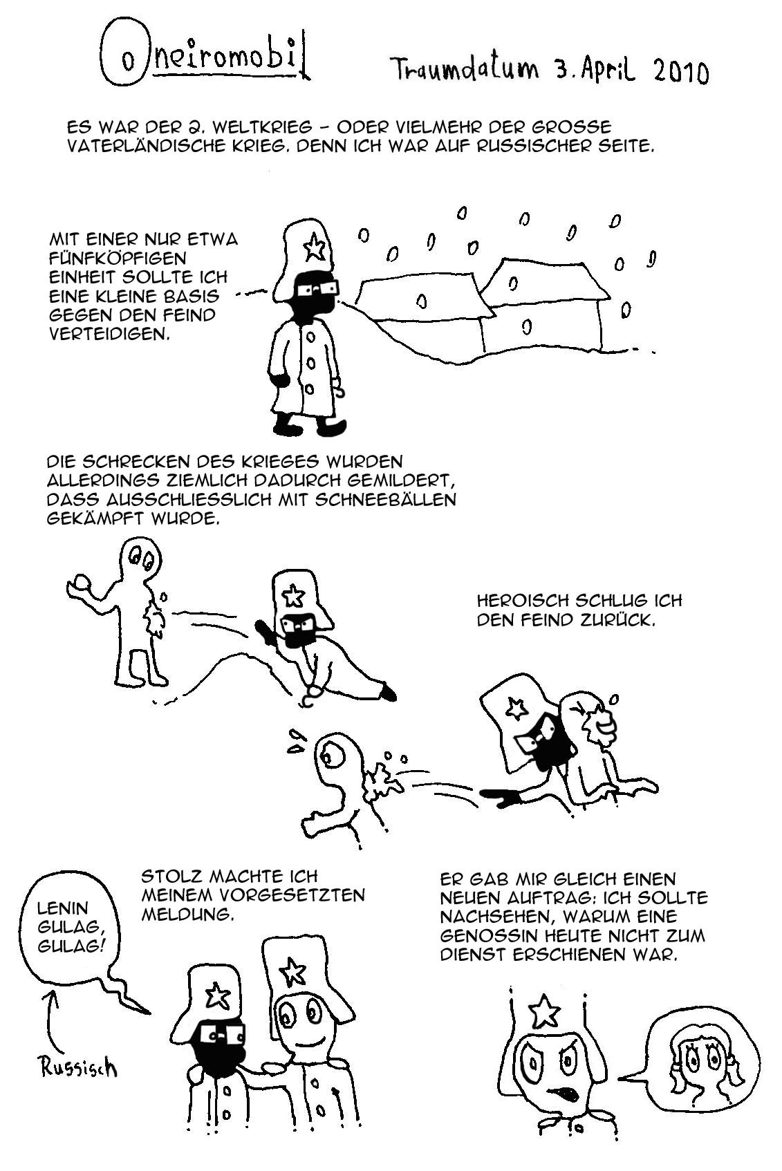 Webcomic - Oneiromobil 010a