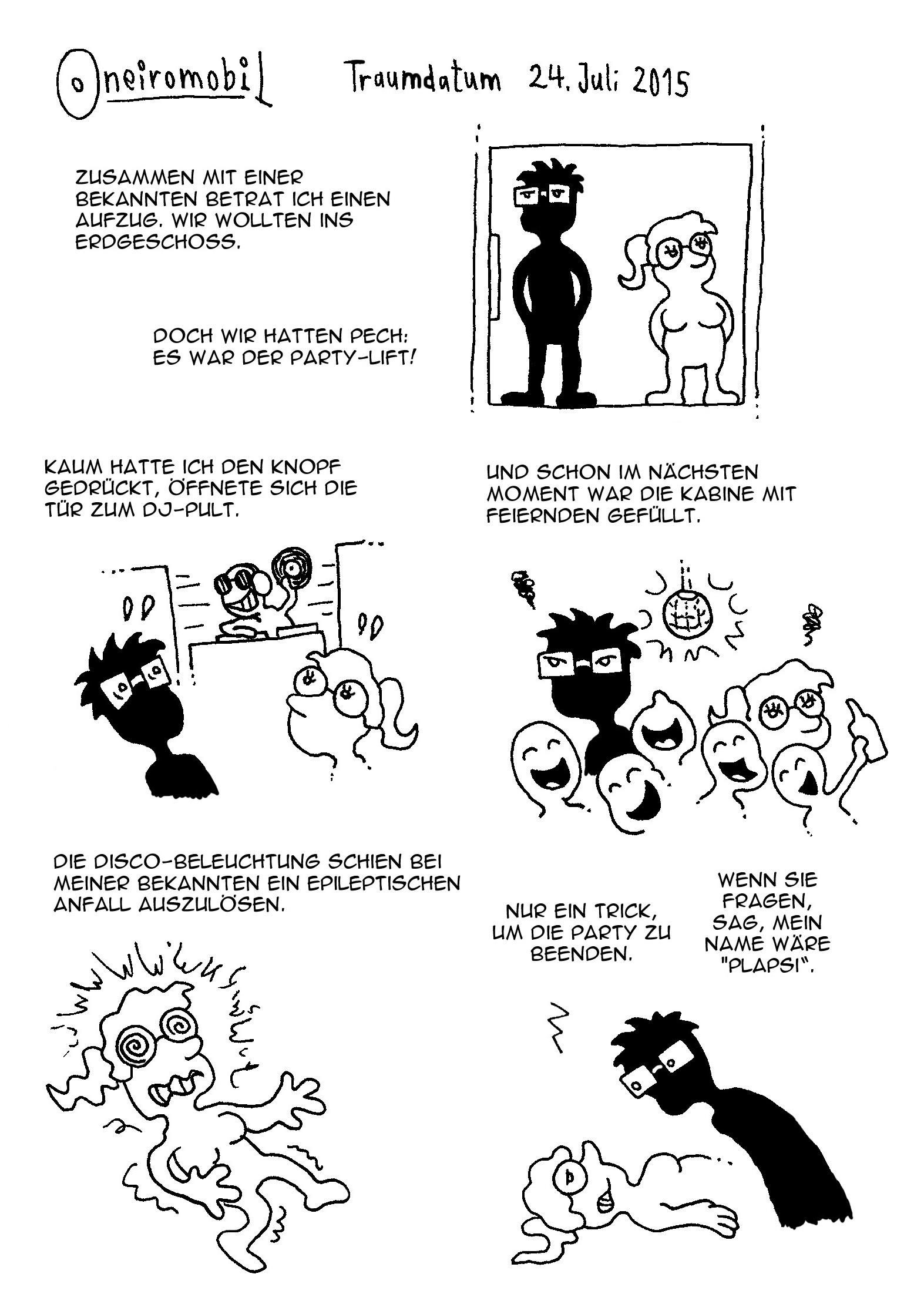Webcomic - Oneiromobil 016a
