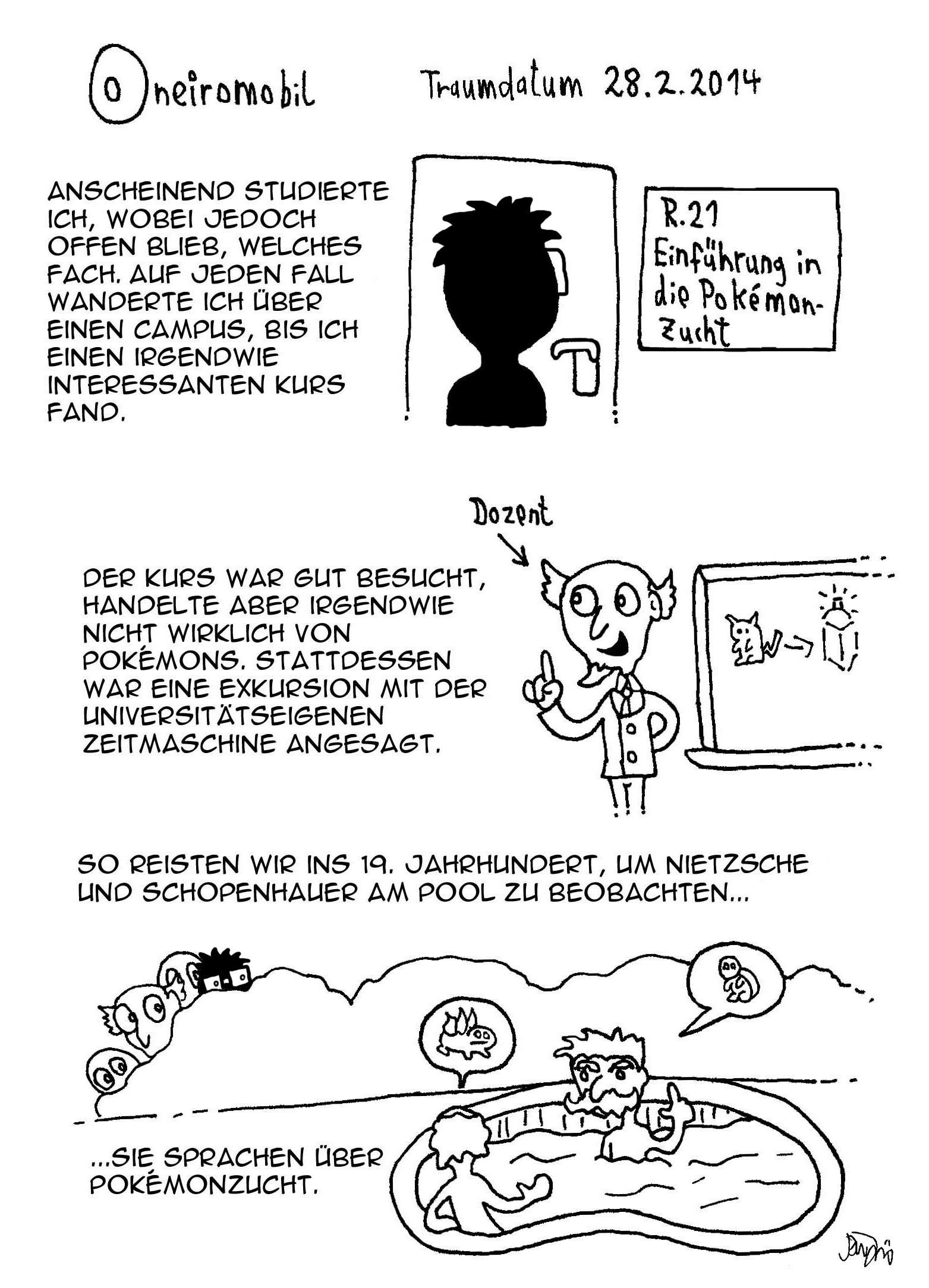Webcomic - Oneiromobil 018