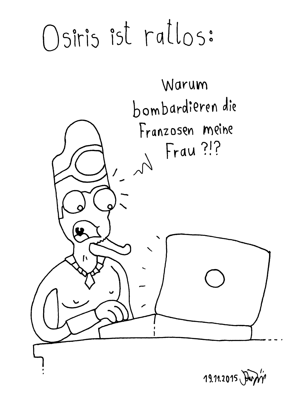Webcomic - Osiris ist ratlos